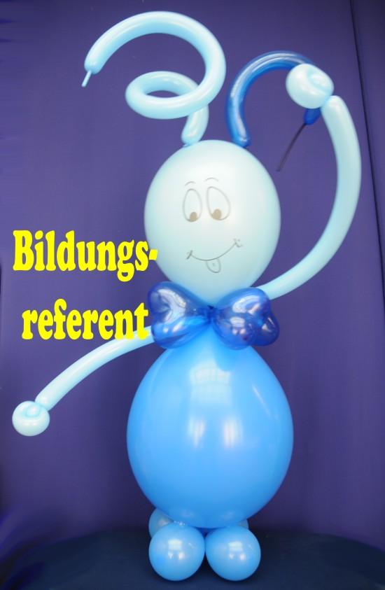 Bildungsreferent Luftballons