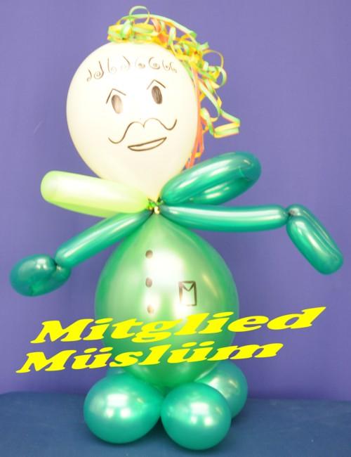 Müslüm, Mitglied, Gewerkschaft der Luftballons